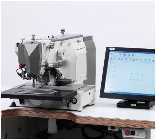 RPS/F Series - Electronically Controlled Pattern Sewing Machine with DD