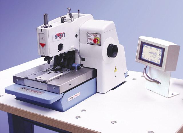 Electronic Eyelet Buttonhole Machine S40 AMF Reece Stunning Automatic Buttonhole Sewing Machine
