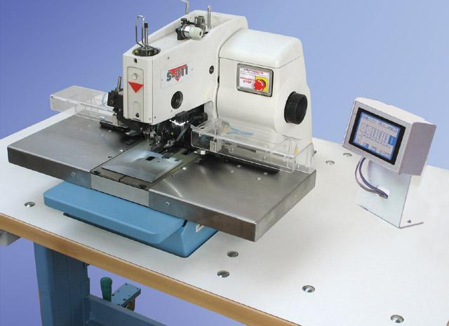 Electronic Eyelet Buttonhole Machine S40 Indexer AMF Reece Custom Automatic Buttonhole Sewing Machine